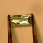 0006 Paraiba Tourmaline (Indicolite) Origin: Nigeria Size: 4.24x8.61mm Weight: 1.10ct Design: